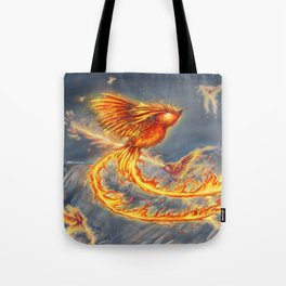 Hummingbird Phoenix Tote Bag