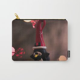 Penguin Santa Photography Print Carry-All Pouch