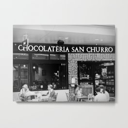 Chocolateria Metal Print