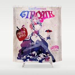 Les Femmes Cirque Shower Curtain
