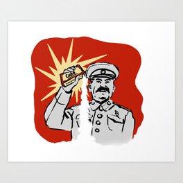 Soviet Baking Soda Art Print