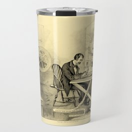The Progress of the Century (Currier & Ives) Travel Mug