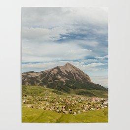 Tiny Mountain Town Poster