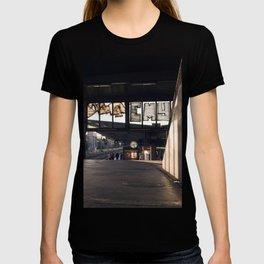 suburban railway station T-shirt