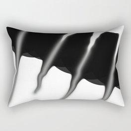 Reverse Lightining Rectangular Pillow