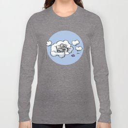 Cloud Bench for Squirrels Long Sleeve T-shirt