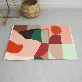 Geometric shapes Rug