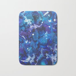 Oceanic Ink Bath Mat
