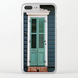 New Orleans Creole Cottage Clear iPhone Case