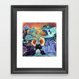 Jungle Spirit Framed Art Print