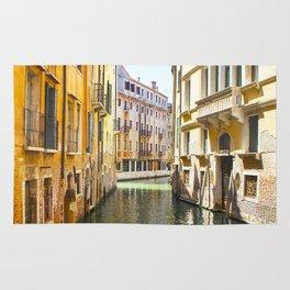 A Gondola Ride through Venice Rug