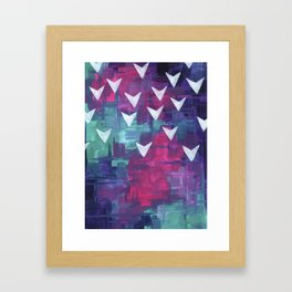 Fear of Flight Framed Art Print