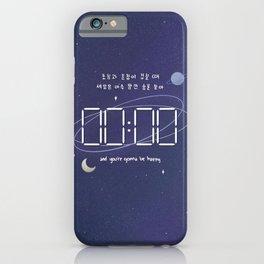 mots - zero o'clock  iPhone Case