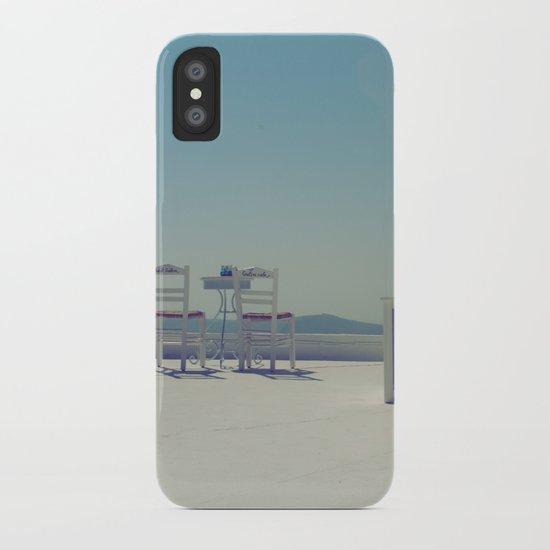 Turquoise Gazing  iPhone Case
