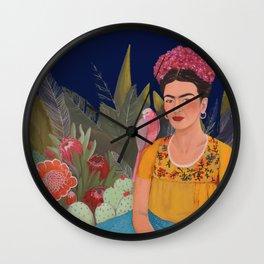 Frida.licious Wall Clock
