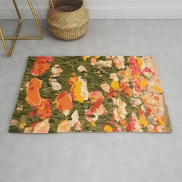Poppies in the Sun Rug