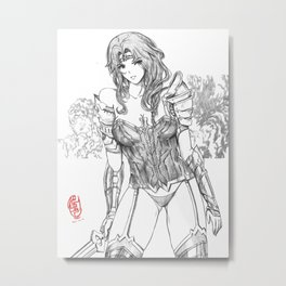 Queen of the Amazons 03 Metal Print