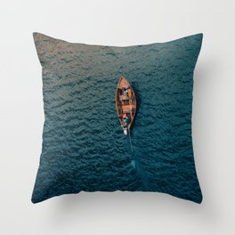 Gone for the Ocean Throw Pillow