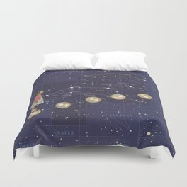 Journey to discovering you Duvet Cover