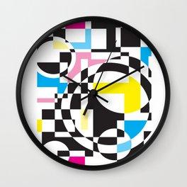 Colorama Wall Clock