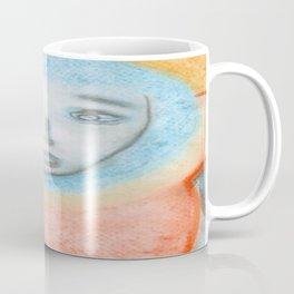 Spiritual Chalks Drawing of Jesus, The Hanging Man Coffee Mug