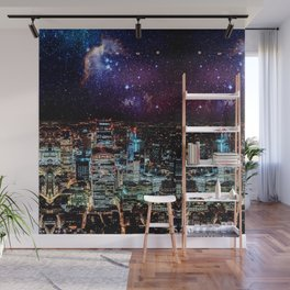 City Nights Wall Mural