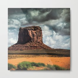monument valley landmark Metal Print