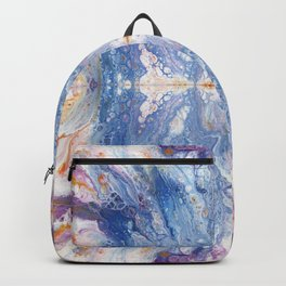 Colorful Water Splash Exotica by annmariescreations Backpack