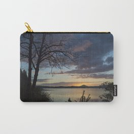 Lake Quinault Sunset, Washington Carry-All Pouch