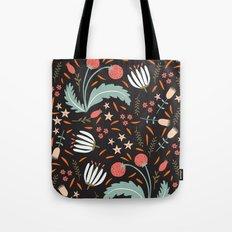 Floral Fusion Tote Bag