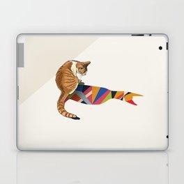 Walking Shadow, Cat 2 Laptop & iPad Skin