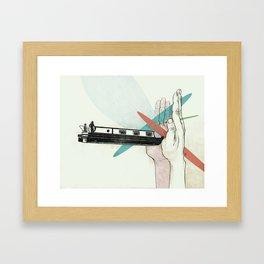 Lock Keeper Framed Art Print