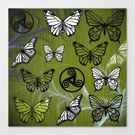 Butterfly Dreams in Glade Canvas Print