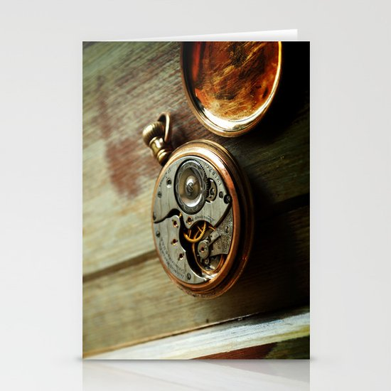 The Conductor's Timepiece - 2 Stationery Cards
