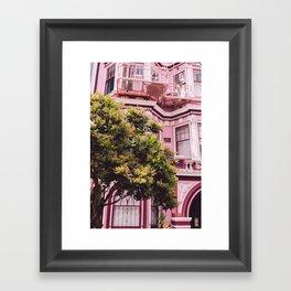 San Francisco Pink II Framed Art Print