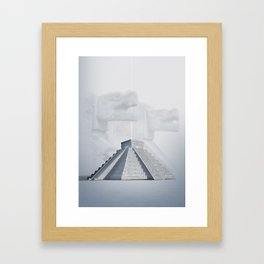 Chichen Itza, Mexico Framed Art Print