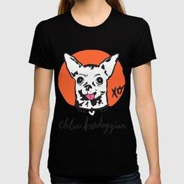 Chloe Kardoggian Illustration with Signature T-shirt
