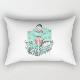 Earth Soup Rectangular Pillow