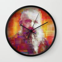 monet Wall Clocks featuring Claude Monet by Steve W Schwartz Art