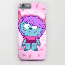 lil' monster sis iPhone Case