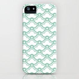 matsukata in grayed jade iPhone Case