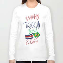 VAMOS TIQUICIA  Long Sleeve T-shirt