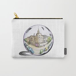 the city painted in pastel colours and in a bowl Carry-All Pouch