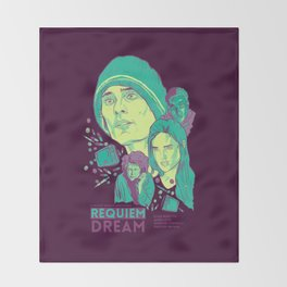Requiem For A Dream Throw Blanket