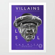 Father Lucas Art Print