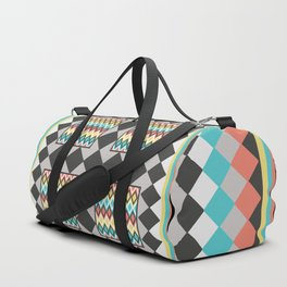 Tribal Patch Work Quilt Duffle Bag