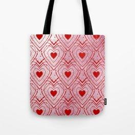 Heartbeat - Romantic - Happy Valentines Day Tote Bag