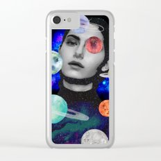 spaced out. Clear iPhone Case