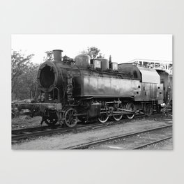 old steam locomotive 2 Canvas Print
