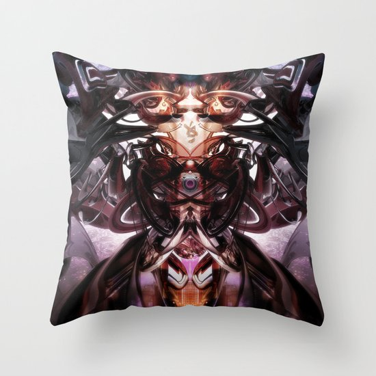 Juggernaut Throw Pillow